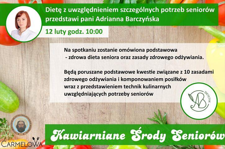 Kawiarniane Środy Seniorów w Mysłowicach